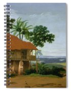 Brazilian Landscape With A Worker   S House  Spiral Notebook