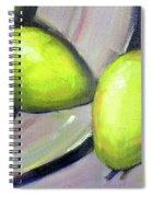 Breakfast Pears Spiral Notebook