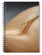Brennan Hill Pearls 5 Spiral Notebook