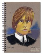 Brian Jones Spiral Notebook