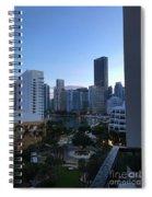 Brickell Key Miami Florida Spiral Notebook