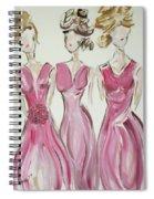 Bridesmaids Spiral Notebook