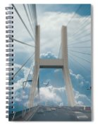 Bridge In The Clouds Spiral Notebook