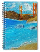 Bridge Over The Bay Spiral Notebook