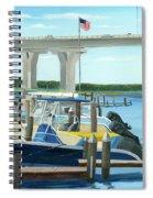 Bridge To Summer II Spiral Notebook
