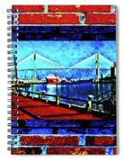 Bridges And Walls  Spiral Notebook
