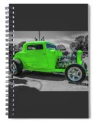 Bright Green Ford Spiral Notebook