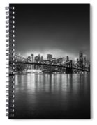 Bright Lights Of New York Spiral Notebook
