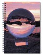 Brighton Beach Reflections Spiral Notebook