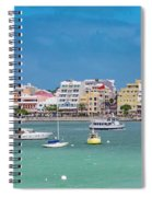 Brilliant Bermuda  Cityscape Spiral Notebook