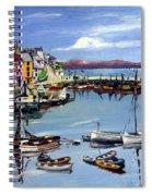 Brixham Harbour Spiral Notebook