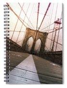 Brooklyn Bridge, New York City Spiral Notebook