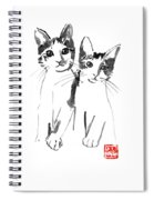 Brothers Cats Spiral Notebook