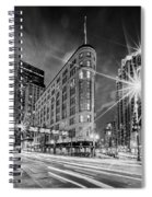 Brown Palace Traffic Spiral Notebook