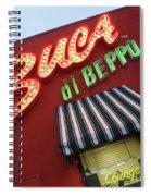 Buca Di Beppo Spiral Notebook