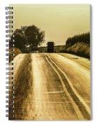Buggy At Golden Hour Spiral Notebook