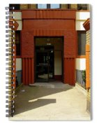 Building Entrance In Brooklyn, New York Spiral Notebook