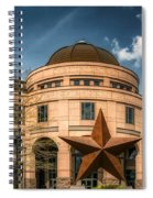 Bullock Texas State History Museum Spiral Notebook