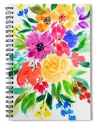 Bunch Of Flowers Spiral Notebook