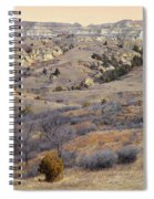 Burning Coal Vein April Reverie Spiral Notebook