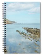 Burnmouth Shore, Cliffs And North Sea Spiral Notebook