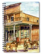 Burros Are Back In Town Spiral Notebook