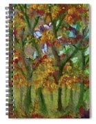 Bursting With Color Spiral Notebook