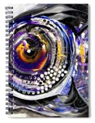 Business Casual Fish Spiral Notebook