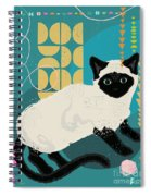 Buster The Shelter Cat Spiral Notebook