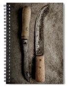Butcher Knives Spiral Notebook
