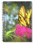 Butterfly Likeness  Spiral Notebook