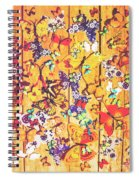 Butterfly Papercraft  Spiral Notebook