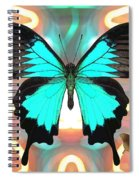 Butterfly Patterns 21 Spiral Notebook