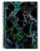 Butterfly Patterns 5 Spiral Notebook
