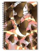 Butterfly Patterns 8 Spiral Notebook