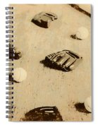Bygone Baseball Spiral Notebook