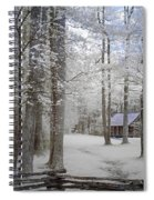 Cabin In The Smoky's II Spiral Notebook