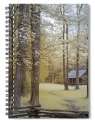 Cabin In The Smoky's Spiral Notebook