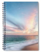 Cabo San Lucas Beach Sunset Mexico Spiral Notebook