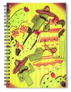 Cactus Carnival Spiral Notebook