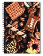 Cafe Beans And Sweet Treats Spiral Notebook