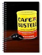 Cafe Bustelo Spiral Notebook