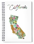 California Spiral Notebook