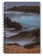 California Coastal Water Motion Spiral Notebook