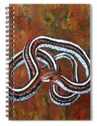 California Garter Snake Spiral Notebook