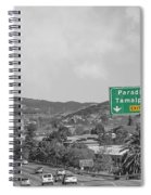 California Highway 101 Spiral Notebook