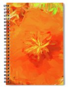 California Poppy Inside Spiral Notebook