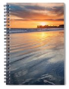 California Sunset V Spiral Notebook
