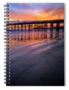 California Sunset Vii Spiral Notebook