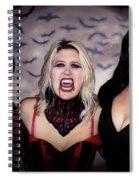 Call Of The Vampires Women Spiral Notebook